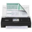 Escaner de escritorio compacto ADS-1500W Brother