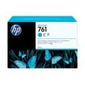 Cartucho de tinta DesignJet HP 761 de 400 ml cian