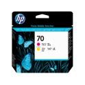Cabezal de impresión DesignJet HP 70 magenta y amarillo