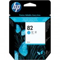 Cartucho de Tinta Hp 82 Cian 28ml