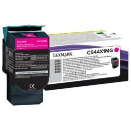 Toner C544X1MG Magenta Lexmark