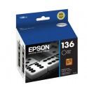 Cartucho de Tinta Epson T136126-AL Negro
