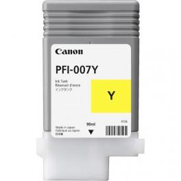 Tinta Canon PFI-007 Amarillo